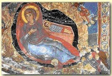 Coptic icon of the Nativity