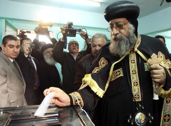 Pope Tawadros Voting