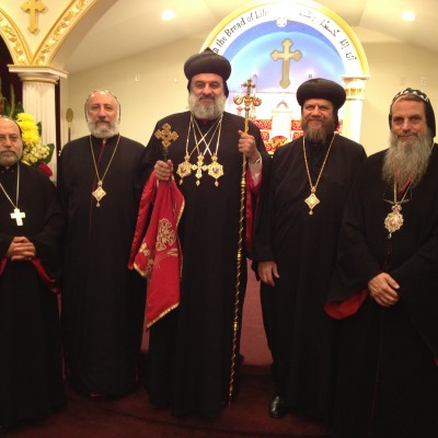 Patriarch Ignatius Aphrem and Bishop Serapion