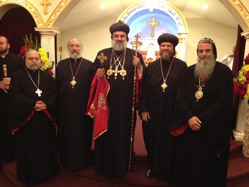 Patriarch Ignatius Aphrem and Bishop Serapion